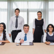 Happy business team — Stock Photo