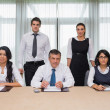 Serious business team — Stock Photo #24117787