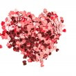 Valentines confetti — Stock Photo #24118241