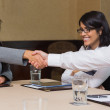 Business shaking hands — Stock Photo #24118327