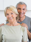 Portrait of a couple smiling — Stock Photo