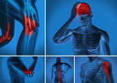 Various body pain — Foto de Stock