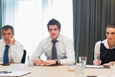 Smiling business — Stock Photo