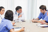 Meeting of medical team — Stock Photo
