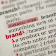 Brand definition — Stock Photo #24146007
