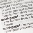 Mortgage definition — Stock Photo #24147123