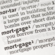 Stock Photo: Mortgage definition