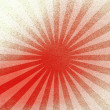 Linear pattern of red and cream — Stock Photo