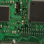 placa de circuito impreso — Foto de Stock