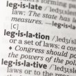 Legislation definition - Stock Photo
