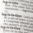 Legislation definition — Stock Photo