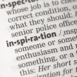 Stock Photo: Inspiration definition