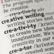 Creativity definition — Stock Photo #24149165