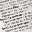 Business definitions - Stock Photo