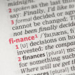 Finance definition — Stock Photo