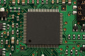 Green PCB — Stock Photo