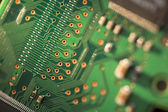 Close up of Printed Circuit Board — Stock Photo