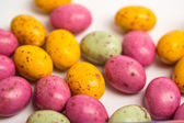 Many little easter eggs — Stock Photo