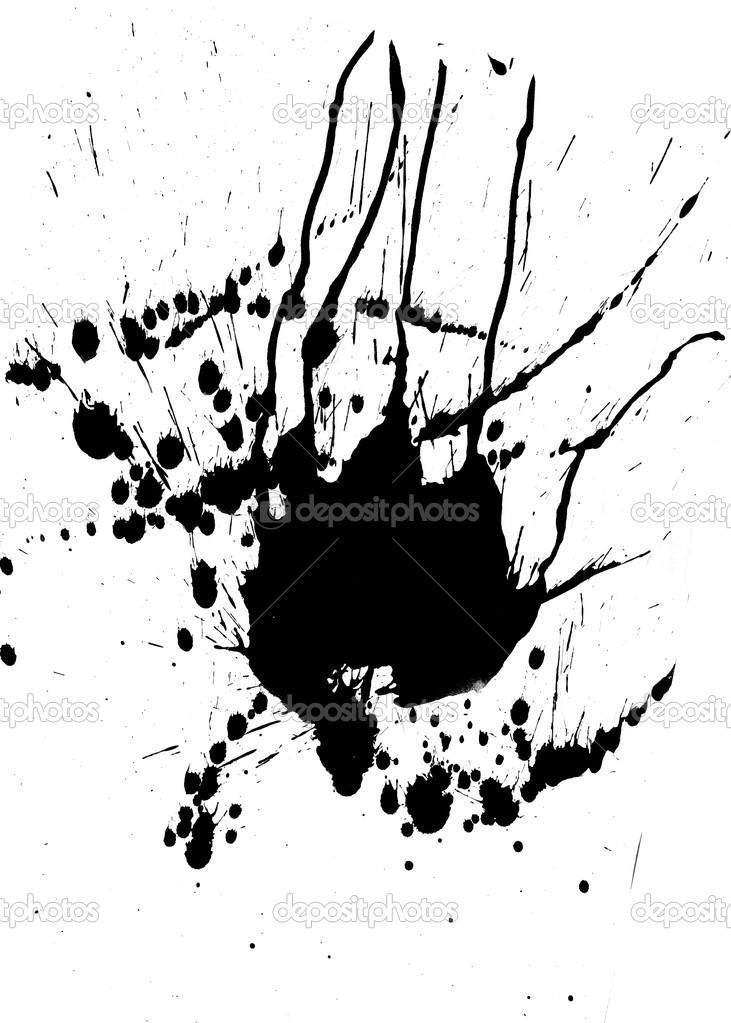 Manchas y salpicaduras de pintura negra foto de stock wavebreakmedia 24147727 - Salpicaduras de pintura ...