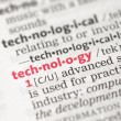 Technology definition — Stock Photo #24150245