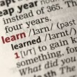Definition of learn — Stok Video #25630697
