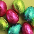 Easter eggs packed — Stock Video