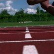 Athletes running a race — Stock Video #25660805