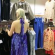 Stock Video: Women looking for clothes