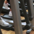 Stock Video: Cross trainer