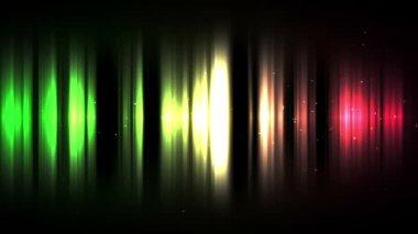 Linee multicolore — Video Stock