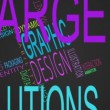 Graphic design buzzwords montage — Stock Video