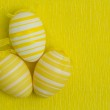 Three easter eggs — Stock Photo #25718639