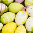 Stock Photo: Many easter eggs