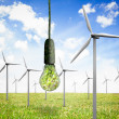Renewable and clean energy — Stock Photo