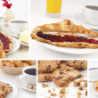 Stock Photo: Pictures representing breakfast