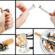Collage with cigarettes — Stock Photo #25720369
