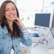 Attractive designer in creative office — Stock Photo #25722793