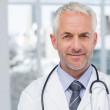 Smiling doctor — Stock Photo