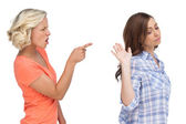 Two friends arguing — Stock Photo