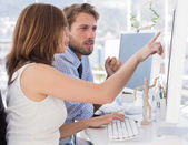 Designers working together — Stock Photo