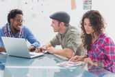 Creative team working together — Stock Photo