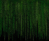 Green matrix — Stock Photo