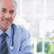 Portrait of a smiling doctor — Stock Photo