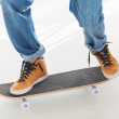 Man having fun on his skateboard — Stock Photo