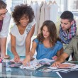 Young creative team working together — Stock Photo