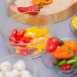 Foto de Stock  : Selection of vegetables