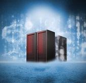 Red servers — Stockfoto