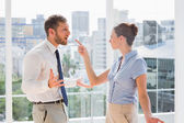 Business team having a heated argument — Stock Photo