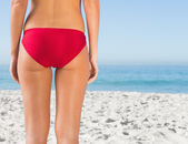 Perfect womans buttocks — Stock Photo