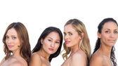 Sensual nude models posing — Stock Photo